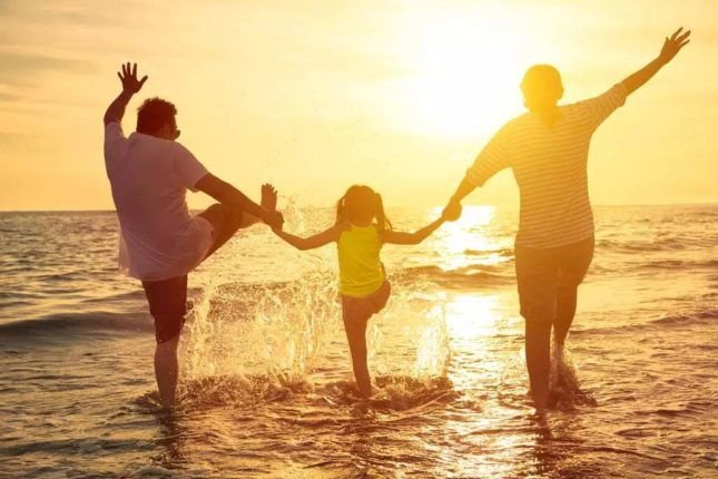 Sommer med familien